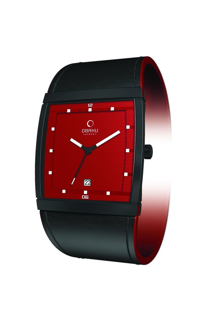 Obaku 3 Hands and Date Watch $84.99