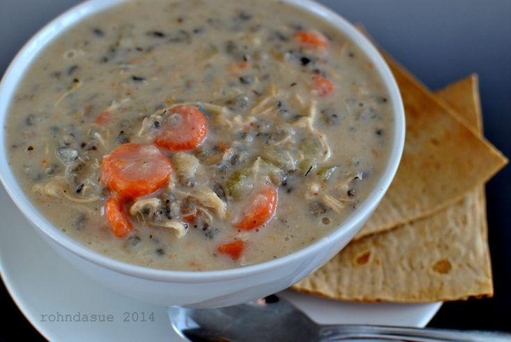 Creamy Chicken and Wild Rice Soup (E)