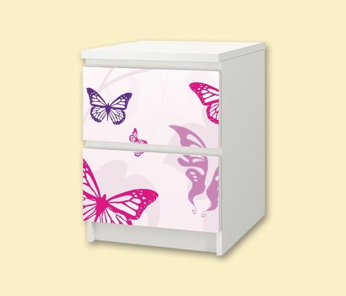 Dressing Table Organizer Ikea ~ Kinderzimmer Nachttisch  Butterfly   Kinderzimmer  Pinterest