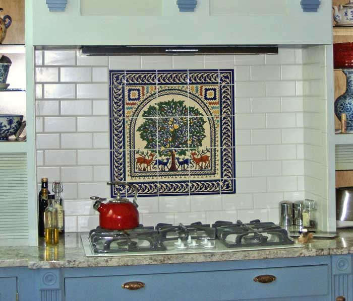 colorful tile backsplash kitchen google search