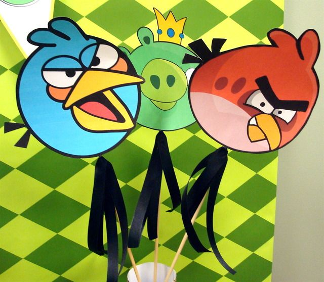 Angry birds birthday party ideas for Angry bird decoration ideas