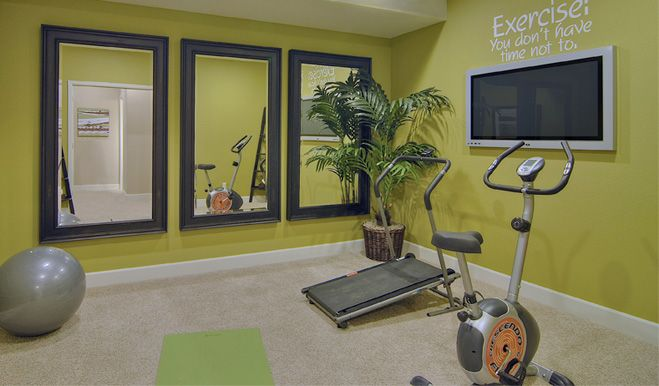 Mirrors in exercise room lower level it pinterest