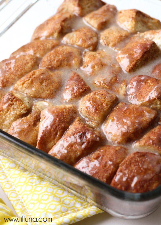 ... super easy and quick version of cinnamon rolls - Cinnamon Roll Bites