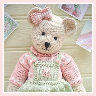 Knitted Teddy Bear Pattern Free Gallery Knitting Patterns Free