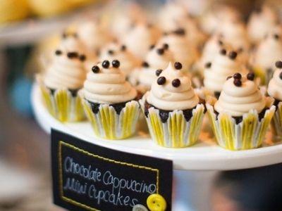 Chocolate Cappuccino Cupcakes? YUMM