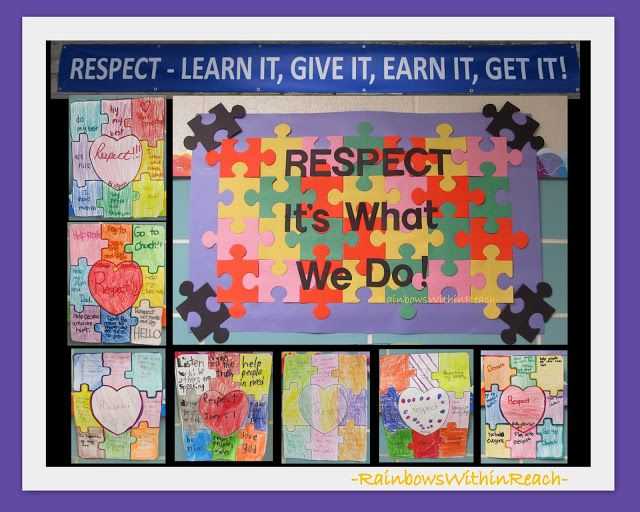 RESPECT Bulletin Board: RoundUP of Classroom Rules at RainbowsWithinReach