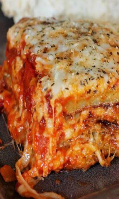Eggplant Lasagna | Italian | Pinterest