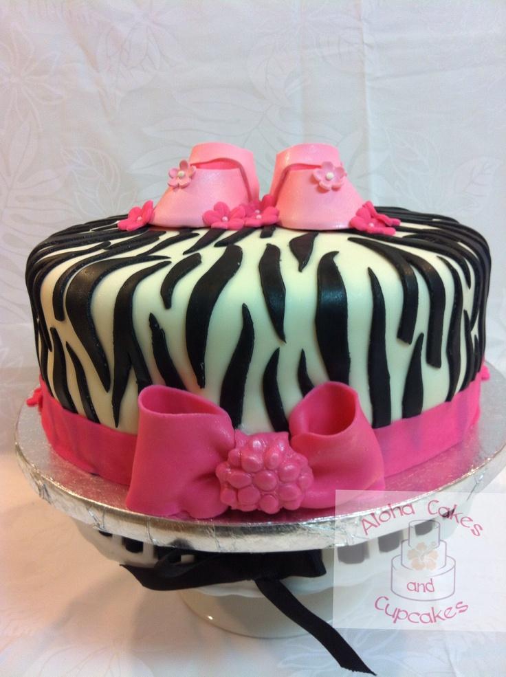 zebra baby shower cake my cake goodies pinterest
