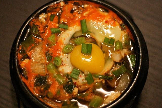 Kimchi Soft Tofu Stew (Soondubu Jjigae) Recipe — Dishmaps
