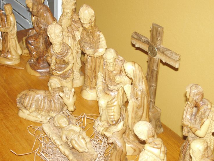 Olive wood carvings from jerusalem trip our christmas