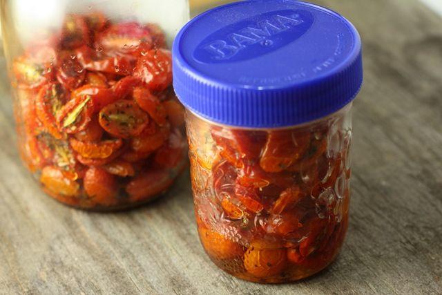Freezing roasted cherry tomatoes | Veggie sides | Pinterest