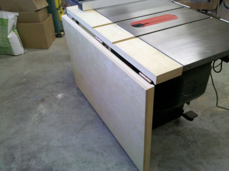 how to add an extension on a short wood jointer