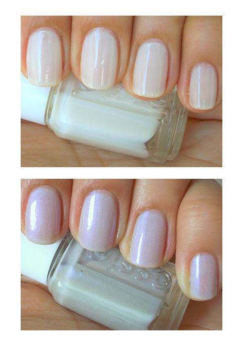 The do's and dont's of #wedding nails. NO tips and no color as a bride - soft undertones!
