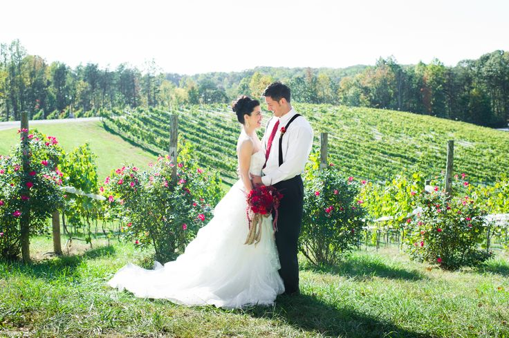 Sneak Peak at our October Wedding photo shoot at Potomac Point Winery!    by Lisa Boggs Photography