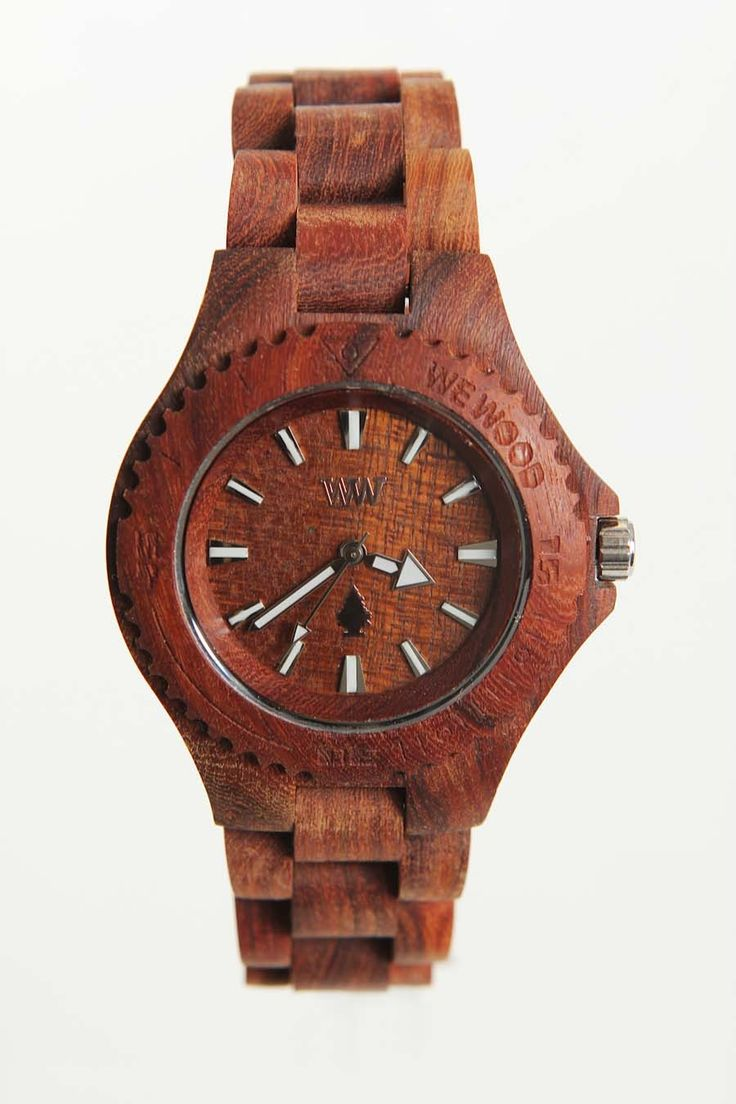 WeWood DATE Wooden Special Edition Watch Brown