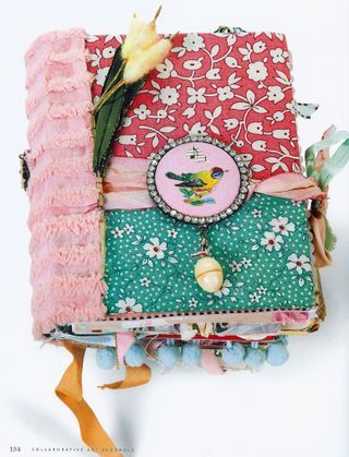 LOVE this!  SO cute! ..would make an awesome camp journal for my girl this summer!