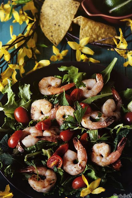 Grilled Tequila Shrimp | Cooked Foodist | Pinterest