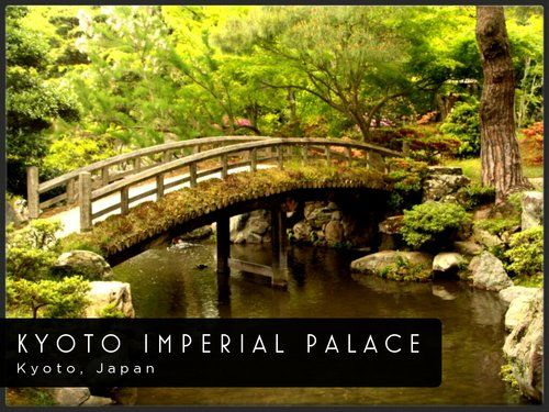 Kyoto Imperial Palace, Japan  Far East!  Pinterest