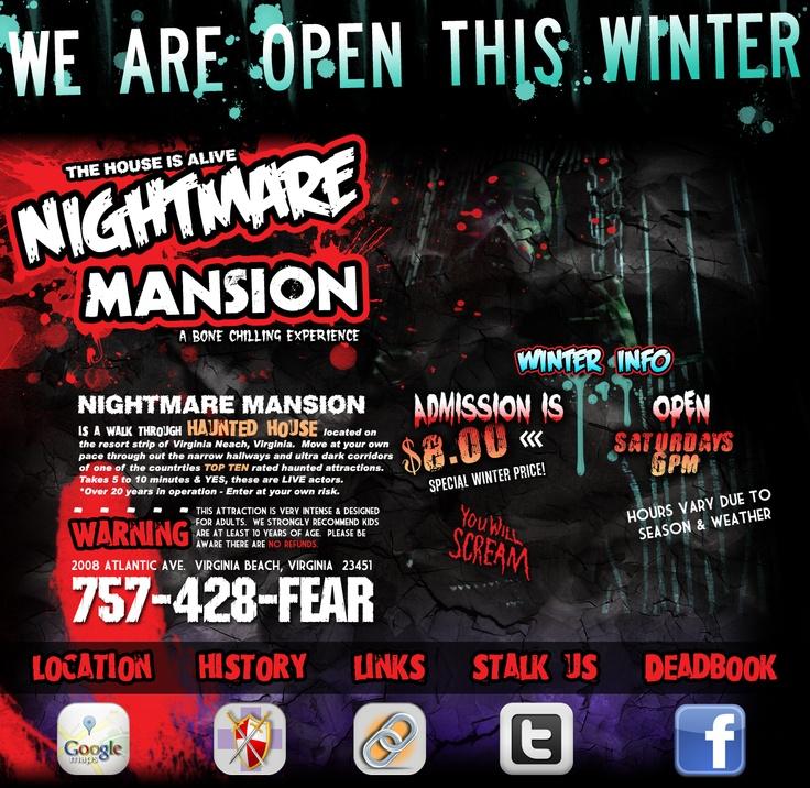 Nightmare Mansion Virginia Beach Va