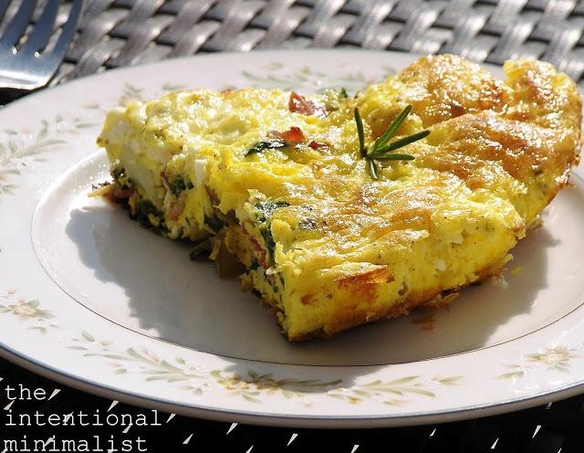 Savory Swiss Chard Frittata | Breakfast & Brunch | Pinterest