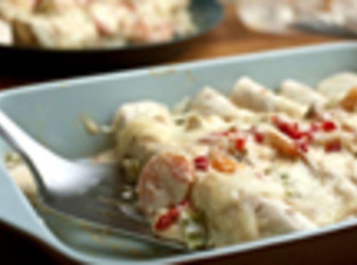 Shrimp Enchiladas | Recipe