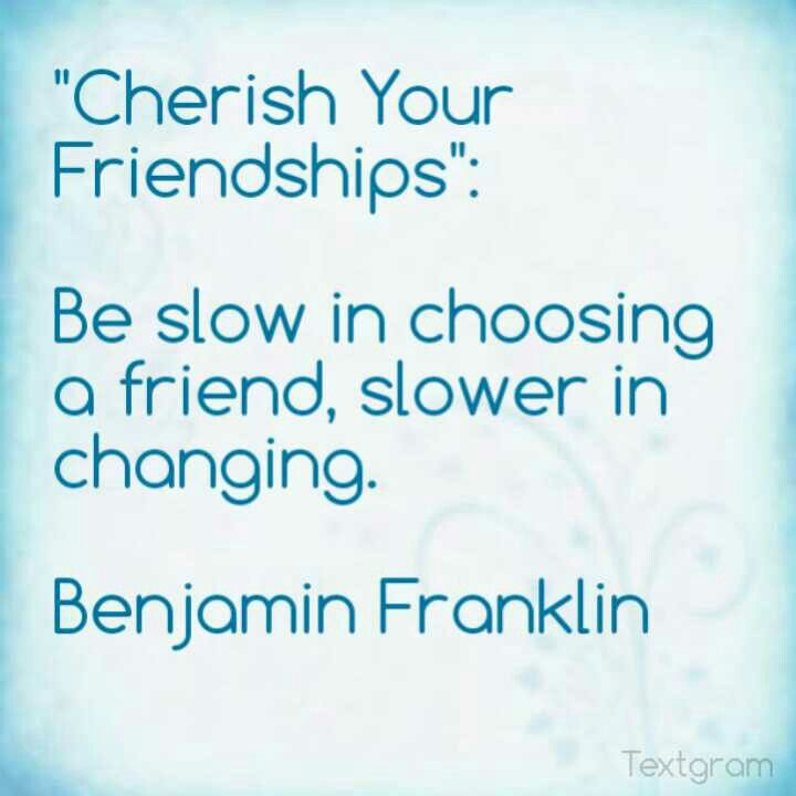 be slow in choosing a friend slower in changing essay