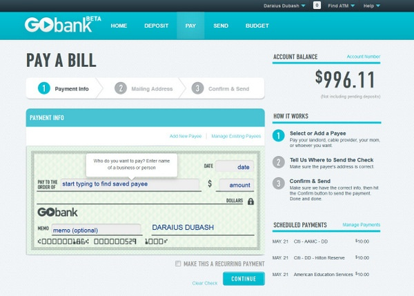 Pay Bill See Offers Check Email With My Verizon Fios | pay ...