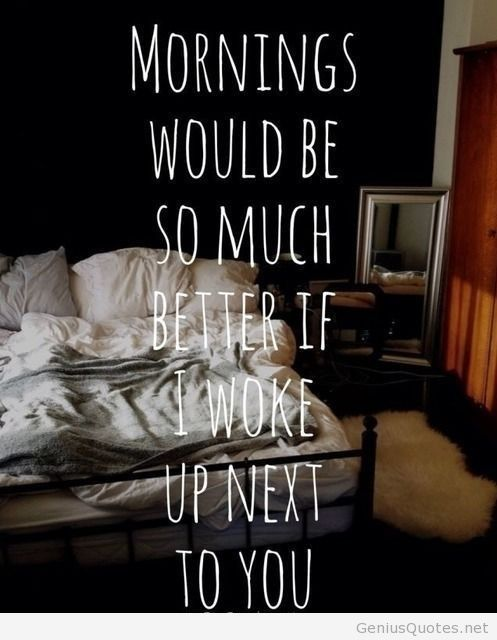 waking up next to you quotes quotesgram