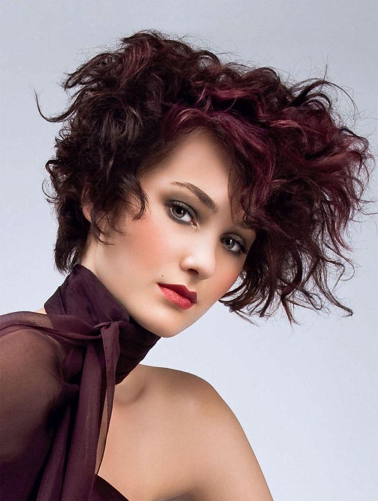 Картинки стрижек для волнистых волос