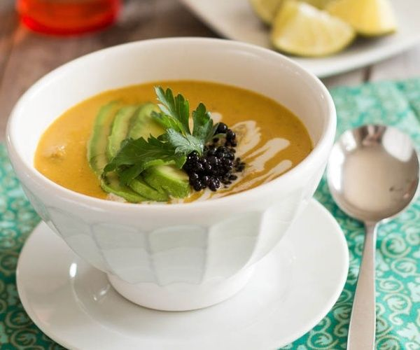 The addition of pumpkin puree, coconut milk, as well as little hint of ...