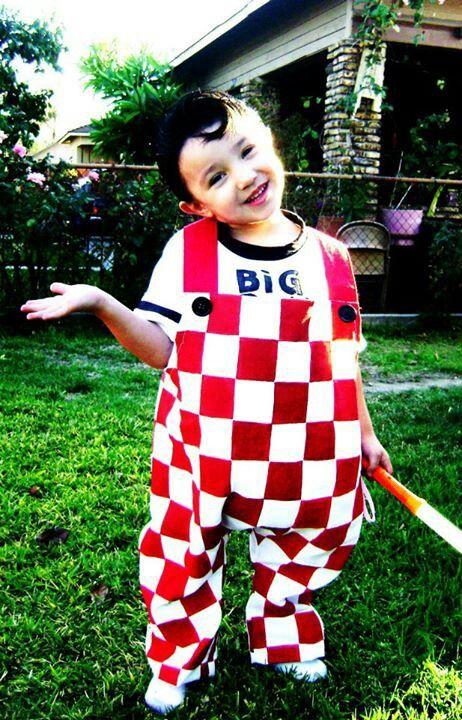 Homemade bobs big boy halloween costume halloween for Easy halloween costume ideas for boys