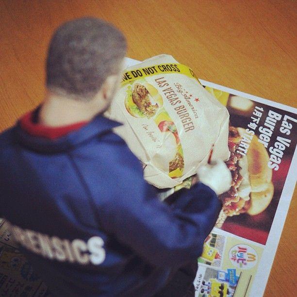1/6 Grissom investigates McDonald's Las Vegas Burger