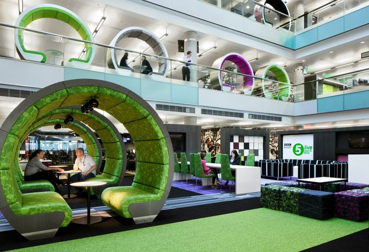 BBC North office design