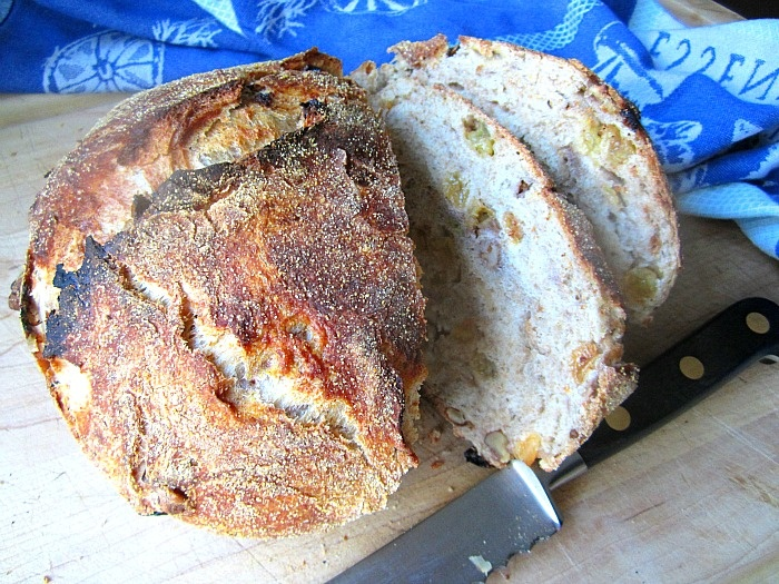Whole Wheat Bread w/ Raisins & Walnuts (with recipe) baked by Stacey ...