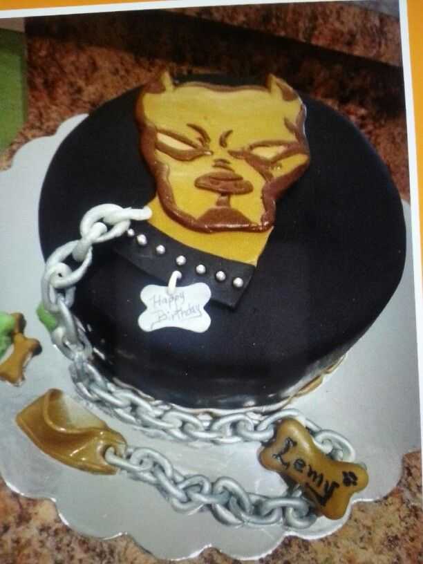 pitbull birthday cakes
