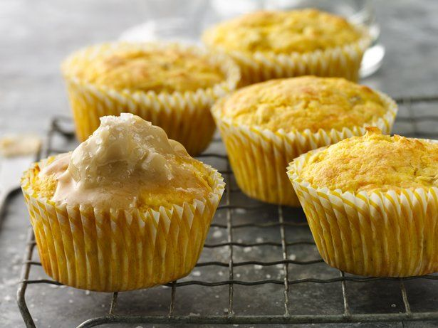 ... Maple Butter Topping - Make regular corn muffins and top with maple