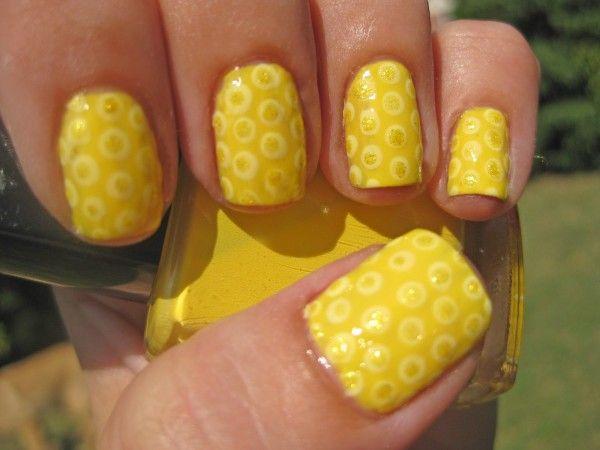 COOL YELLOW ACRYLIC NAIL DESIGN IDEAS | Nails, Nails,Nails | Pinterest