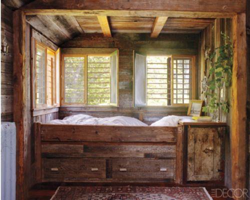 Sleeping Nook Cabin Fever Pinterest
