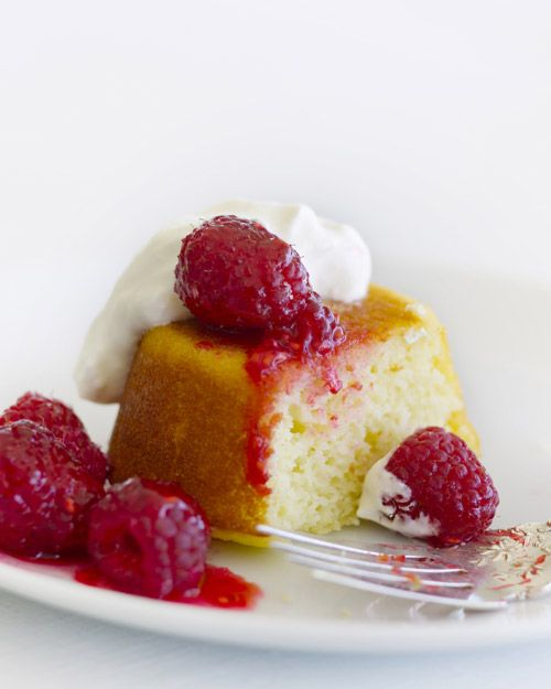 Buttermilk Pudding Cakes (Martha Stewart) are easy and 100% company ...