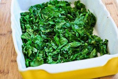 Kalyn's Kitchen®: Recipe for Kale and Feta Breakfast Casserole