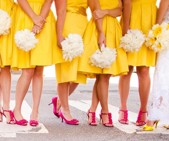 """Read on for the ultimate girlfriend guide to the responsibilities of both the MOH and bridesmaids. It takes the term """"busy bodies"""" to a whole new level!"""