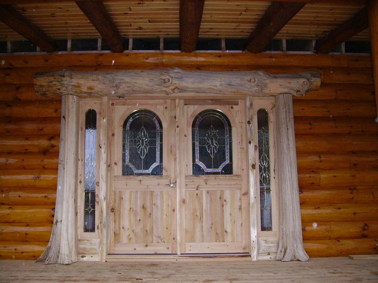 amazing front door log homes pinterest