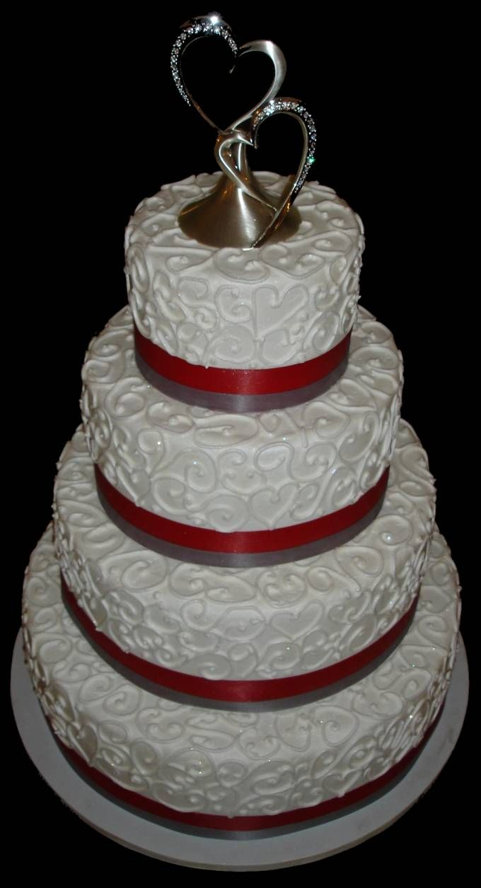 buttercream wedding cake photos | beautiful buttercream wedding cake ...