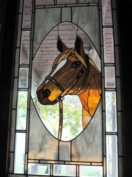 Stained glass horse stained glass windows and more for Window horses