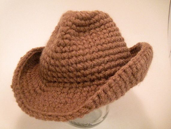 Crochet Pattern - Cowboy/western hat for 16