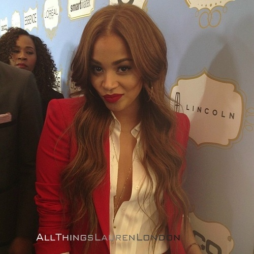 Lauren London Love this hair color, perfect for summer.