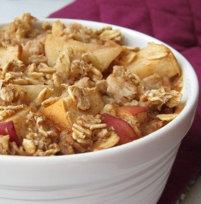 Apple Pie Baked Oatmeal by The Oatmeal Artist