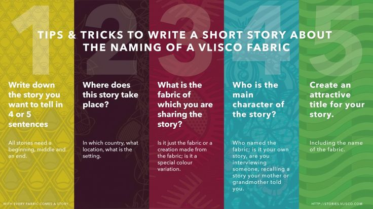 how to write short story