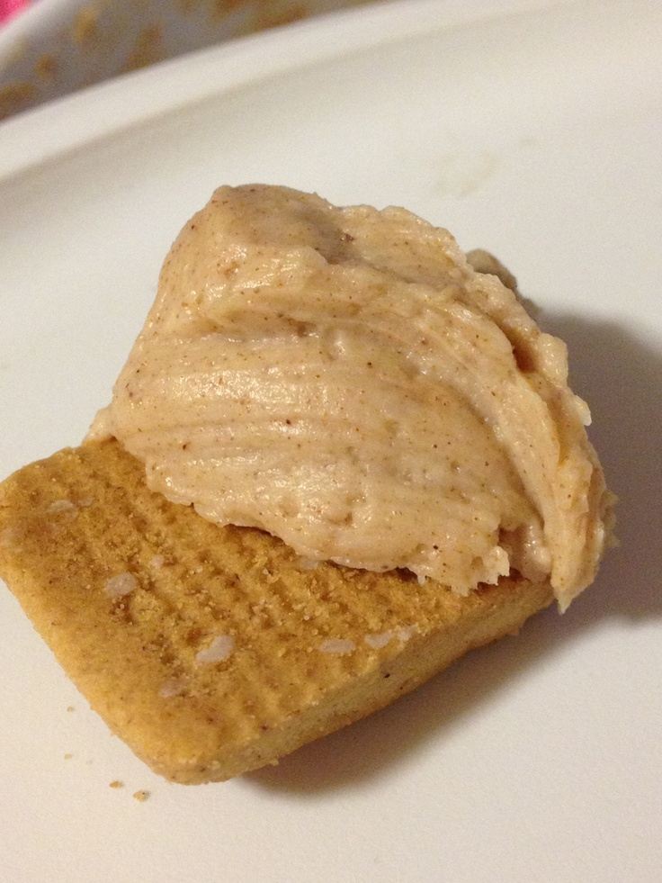 ... cinnamon ~ 3 TB brown sugar ~~~ Use graham crackers to dip with! #45
