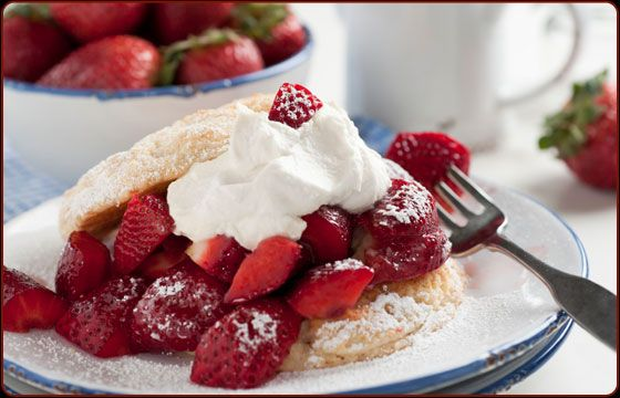 Old Fashioned Strawberry Shortcake | Yummy - Desserts | Pinterest